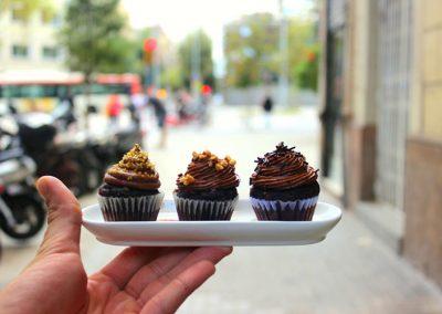 Mini-cakes-chocolate