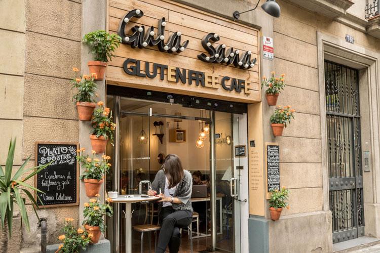 fachada gula sana Barcelona