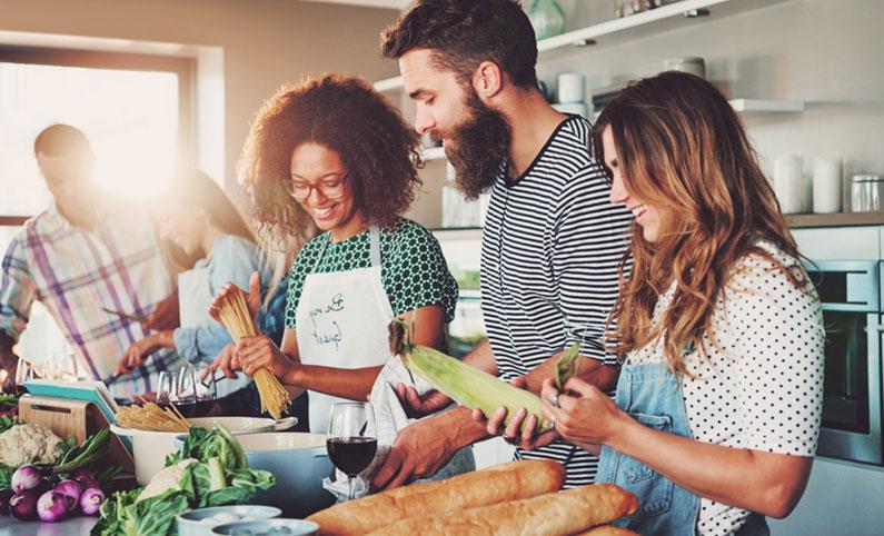 """Cómo compartir la cocina con no-celiacos y no """"morir"""" en el intento"""