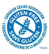 sello Gluten free Canadá