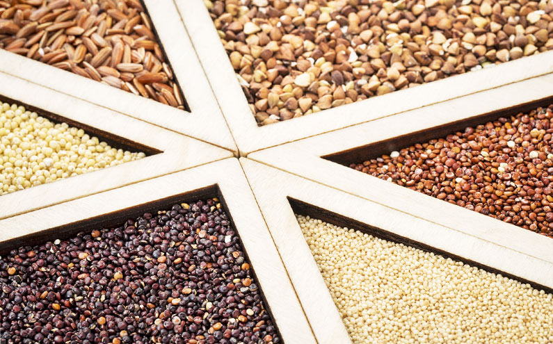 Cereales aptos para celíacos que pueden acompañar tus platos
