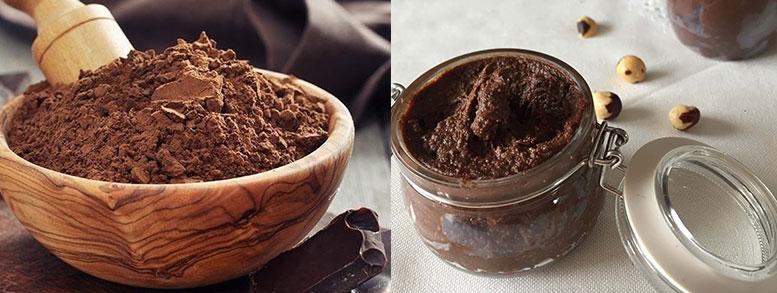 harina y crema de avellanas