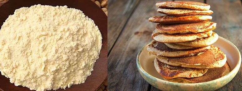 tortillas hechas con harina de soja