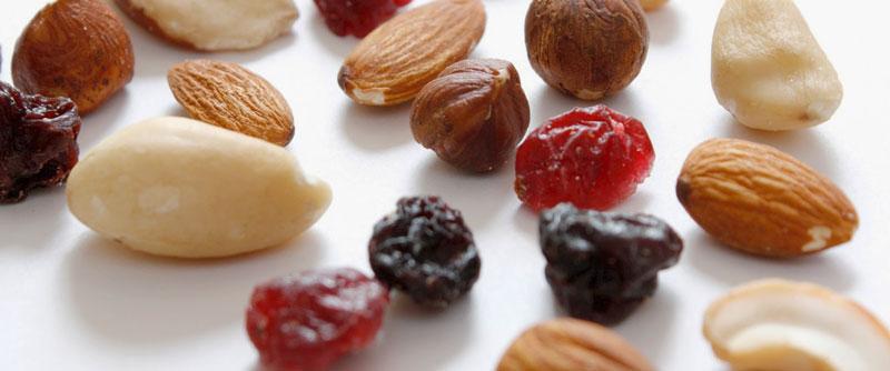 semillas de frutos secos y frutos desecados