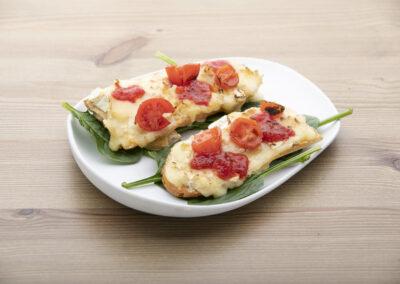 S.4.3.- Tosta queso brie caramelizada